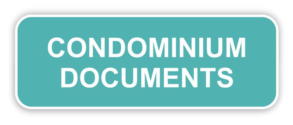 Bylaws, Articles of Incorporation, Declaration of Condominium & Amendments